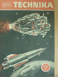 Bozsik Valéria - Népszerű Technika 1963. (nem teljes évfolyam) [antikvár]