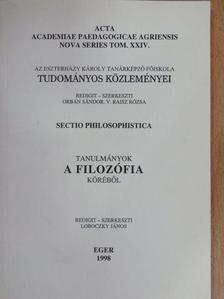 Komlósi Csaba - Acta academiae paedagogicae Agriensis Nova series tom. XXIV. [antikvár]