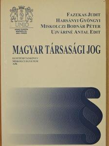 Fazekas Judit - Magyar társasági jog [antikvár]