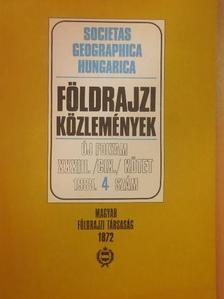 Bassa László - Földrajzi Közlemények 1985/4. [antikvár]