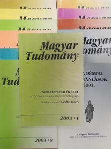 Ács Tibor - Magyar Tudomány 2003. (nem teljes évfolyam) [antikvár]