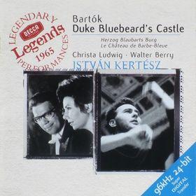 Bartók Béla - DUKE BLUEBEARD`S CASTLE CD