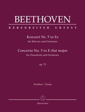 BEETHOVEN - KONZERT NR.5 IN ES FÜR KLAVIER UND ORCHESTER OP.73. PARTITUR (JONATHAN DEL MAR)