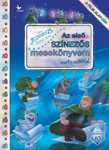 Jégvarázs: Északi fények - Az első színezős mesekönyvem matricákkal