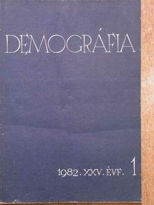 A. Bojarszkij - Demográfia 1982/1-4. [antikvár]