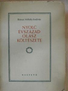 Alessandro Poerio - Nyolc évszázad olasz költészete [antikvár]