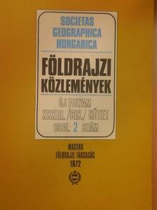 Dr. Erdősi Ferenc - Földrajzi Közlemények 1985/2. [antikvár]