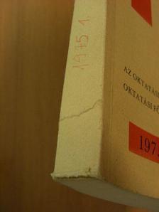 Andó György - Tájékoztató 1975/1. [antikvár]
