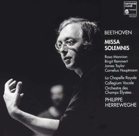 BEETHOVEN - MISSA SOLEMNIS CD HERREWEGHE