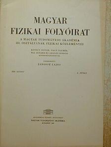 Fodor Ilona - Magyar Fizikai Folyóirat XIII. kötet 6. füzet [antikvár]