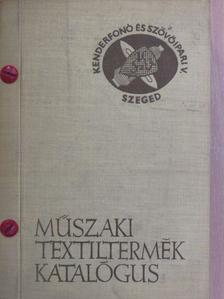 Bakó László - Műszaki textiltermék katalógus [antikvár]