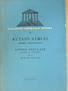 Bihari Klára - Kutató Sámuel [antikvár]