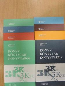 Fehér Miklós - Könyv, könyvtár, könyvtáros 2011-2012. (vegyes számok) (8 db) [antikvár]