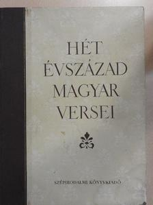 Ábrányi Emil - Hét évszázad magyar versei [antikvár]