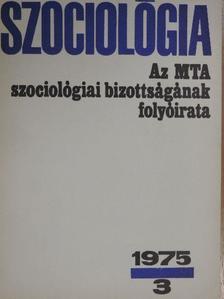Andics Jenő - Szociológia 1975/3. [antikvár]