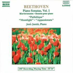 BEETHOVEN - PIANO SONATAS OP.13,27no2,57 CD JANDÓ JENŐ