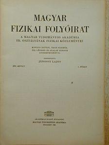 Kovács István - Magyar Fizikai Folyóirat XVI. kötet 4. füzet [antikvár]