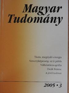 Artner Annamária - Magyar Tudomány 2005. március [antikvár]