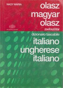 Nagy Mária - Olasz-magyar-olasz zsebszótár [antikvár]