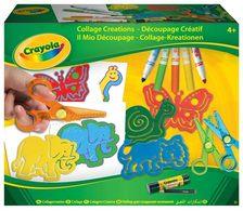 Crayola Állatfigurás kreatív kollázs készlet