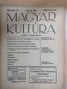 Barta István - Magyar Kultúra 1943. március 20. [antikvár]