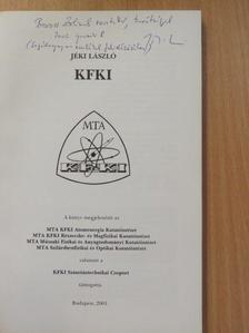Jéki László - KFKI (dedikált példány) [antikvár]