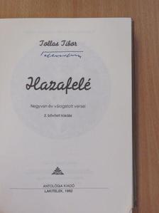 Tollas Tibor - Hazafelé (aláírt példány) [antikvár]
