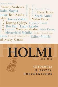 .- - Holmi-antológia 2.