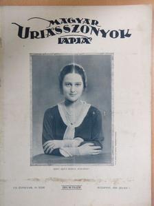 Csermely Gyula - Magyar Uriasszonyok Lapja 1930. július 1. [antikvár]