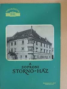 Storno Pál - A soproni Storno-ház [antikvár]