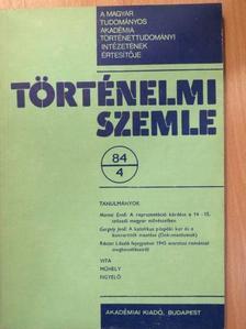 Bartha Antal - Történelmi Szemle 1984/4. [antikvár]