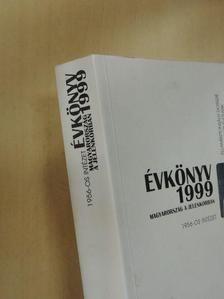 Balázs Bálint - Magyarország a jelenkorban évkönyv 1999 [antikvár]