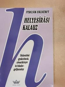 Balázs Géza - Helyesírási kalauz [antikvár]
