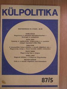 Balogh Sándor - Külpolitika 1987/5. [antikvár]