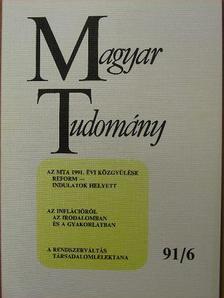 Antall József - Magyar Tudomány 1991. június [antikvár]