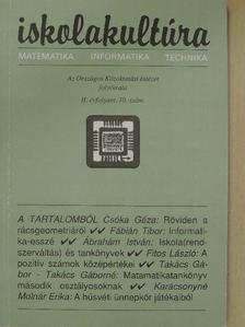 Ábrahám István - Iskolakultúra 1992/10. [antikvár]