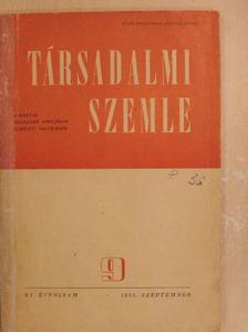 Gyenes Antal - Társadalmi Szemle 1956. szeptember [antikvár]
