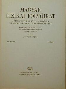 Kovács István - Magyar Fizikai Folyóirat XIII. kötet 4. füzet [antikvár]