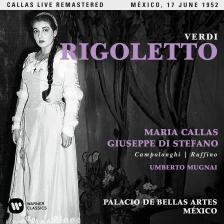 Verdi - RIGOLETTO 2CD CALLAS, MUGNAI