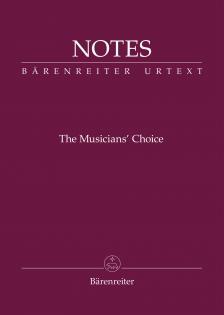 """HANGJEGY- ÉS JEGYZETFÜZET (MINI) -BORDÓ (BEETHOVEN), """"THE MUSICIAN'S CHOICE"""""""