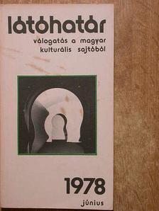 Ágh István - Látóhatár 1978. június [antikvár]