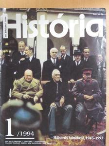 Barcza György - História 1994/1. [antikvár]