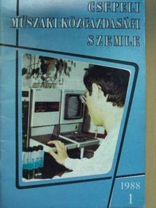 Dr. Albert Béla - Csepeli Műszaki-Közgazdasági Szemle 1988/1. [antikvár]