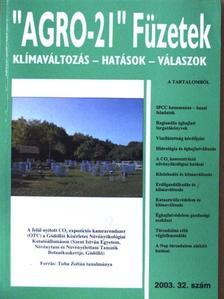 """Alföldi László - """"AGRO-21"""" Füzetek 2003/32. [antikvár]"""