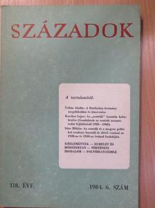 Kerekes Lajos - Századok 1984/6. [antikvár]