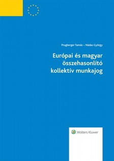 dr. Prugberger Tamás, dr. Nádas György - Európai és magyar összehasonlító kollektív munkajog [eKönyv: epub, mobi]