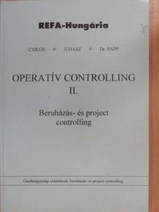 Csikós Istvánné - Operatív controlling II. [antikvár]