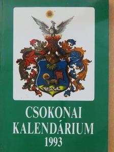 Bényei Miklós - Csokonai kalendárium 1993 [antikvár]