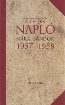 A teljes napló 1957-58.