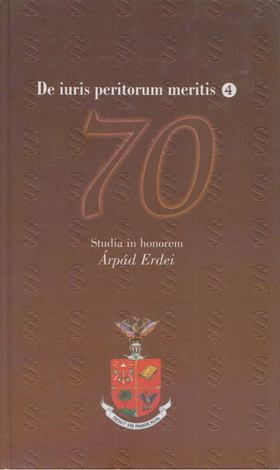 Dobrocsi Szilvia - Studia in honorem Árpád Endrei [antikvár]